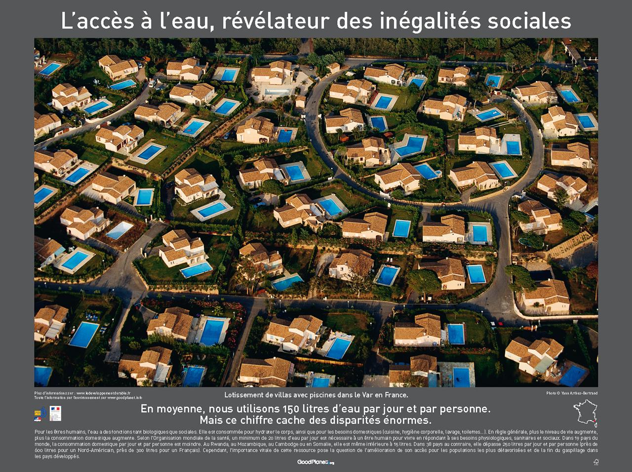 Un Lotissement De Villas Avec Piscine Dans Le Var France